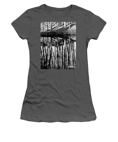 Reflected Landscape Patterns Women's T-Shirt (Athletic Fit)