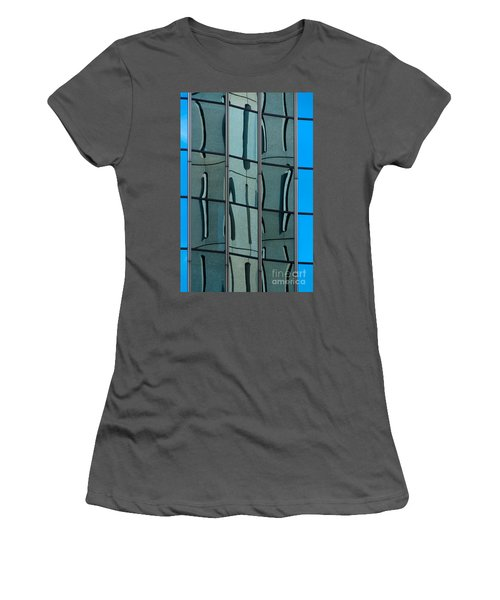 Women's T-Shirt (Junior Cut) featuring the photograph Reflecting Eagle 1 by Werner Padarin