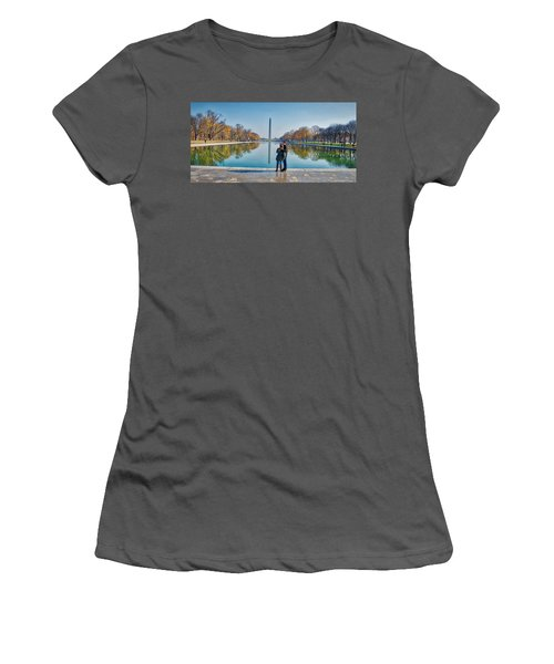 Reflecting Pool Women's T-Shirt (Athletic Fit)