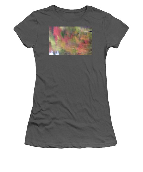 Reflections Women's T-Shirt (Junior Cut) by Catherine Alfidi