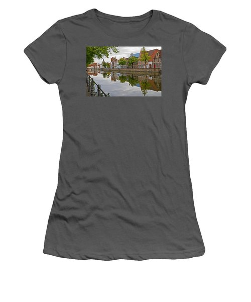 Reflections Of Brugge Women's T-Shirt (Athletic Fit)