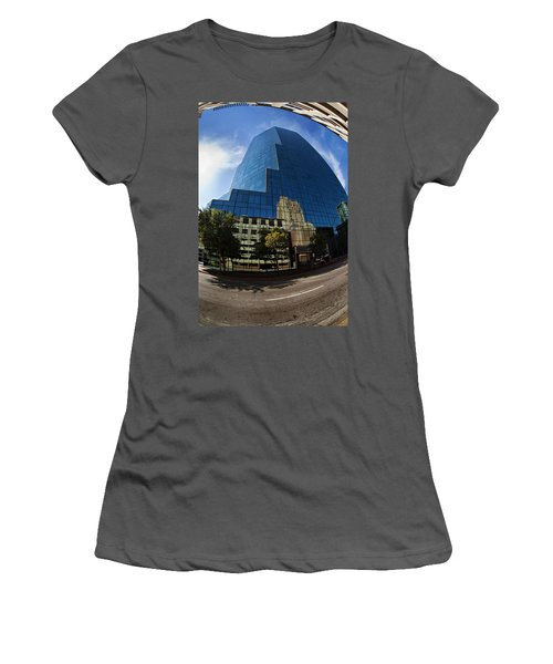Reflections Of Fort Worth Women's T-Shirt (Athletic Fit)