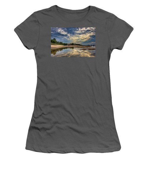 Reflections On The Beach Women's T-Shirt (Athletic Fit)