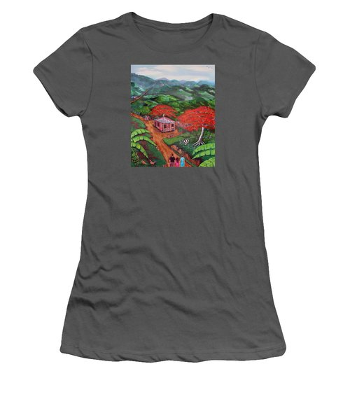 Regreso Al Campo Women's T-Shirt (Athletic Fit)
