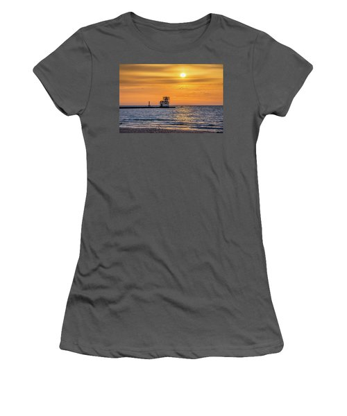 Women's T-Shirt (Athletic Fit) featuring the photograph Rehabilitation Rising by Bill Pevlor