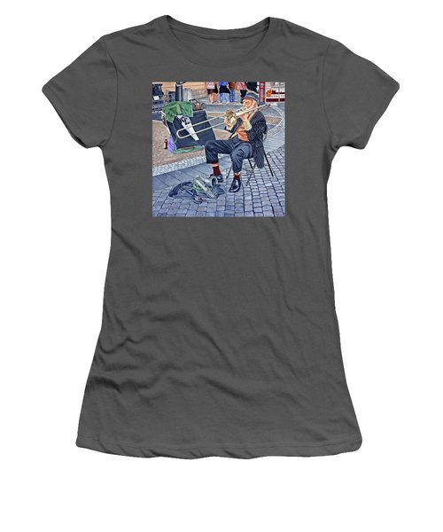 Rehearsal In Prague Women's T-Shirt (Athletic Fit)