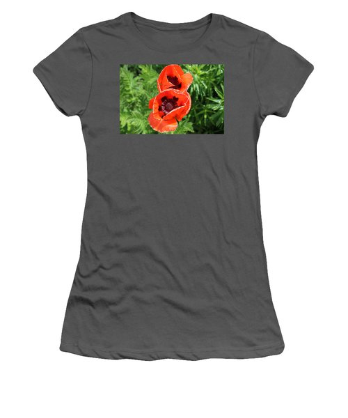 Remember Red 1 Women's T-Shirt (Athletic Fit)