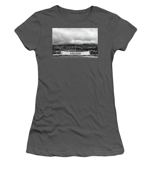 Women's T-Shirt (Athletic Fit) featuring the photograph Remembrance by Colleen Coccia