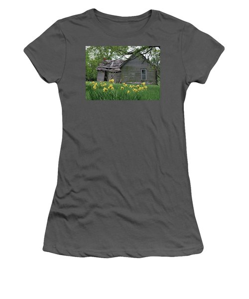 Back Door Renewal Women's T-Shirt (Athletic Fit)