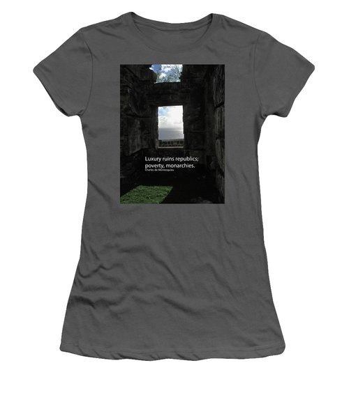 Republics And Monarchies Women's T-Shirt (Junior Cut) by Ian  MacDonald