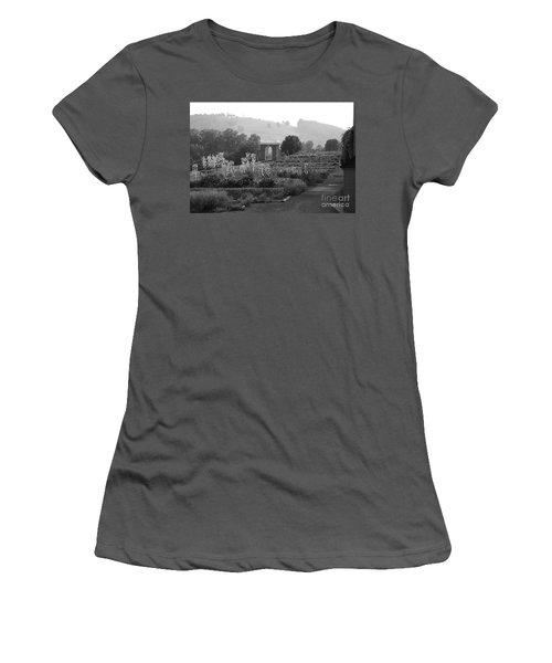 Women's T-Shirt (Junior Cut) featuring the photograph Retreat by Eric Liller