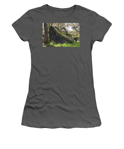 Returning To Nature Women's T-Shirt (Athletic Fit)