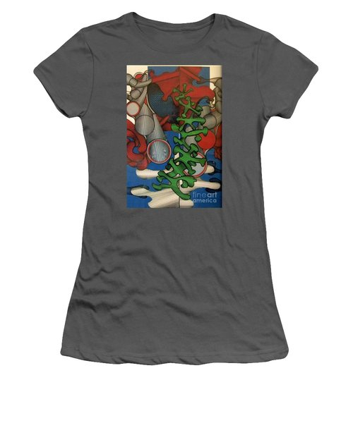 Rfb0107 Women's T-Shirt (Athletic Fit)