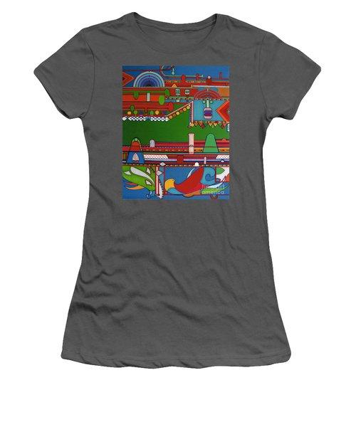 Rfb0404 Women's T-Shirt (Athletic Fit)