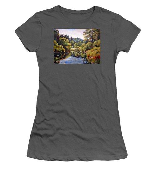 Richard's Pond Women's T-Shirt (Junior Cut) by Alexandra Maria Ethlyn Cheshire