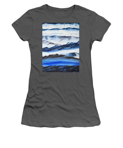 Ridgelines Women's T-Shirt (Athletic Fit)