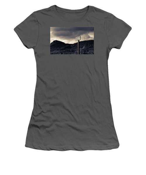 Right Of Way To Laggan Women's T-Shirt (Athletic Fit)