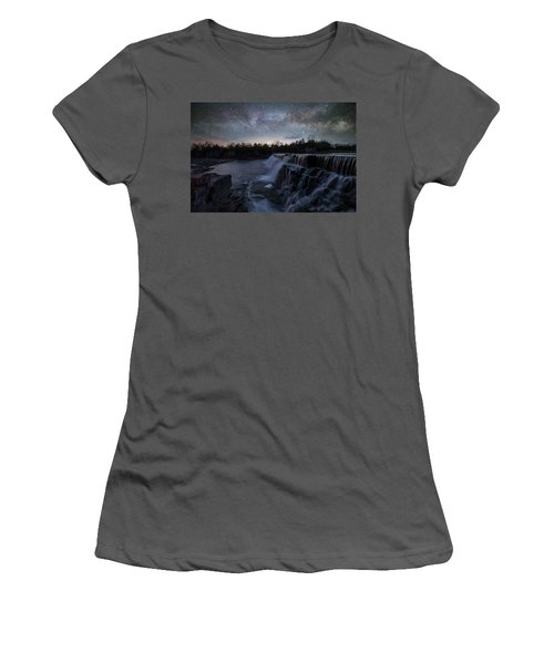 Women's T-Shirt (Junior Cut) featuring the photograph Rise And Fall by Aaron J Groen