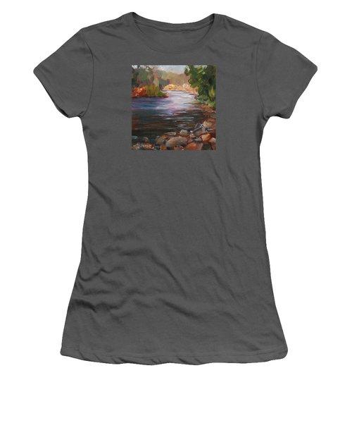 River Light Women's T-Shirt (Athletic Fit)