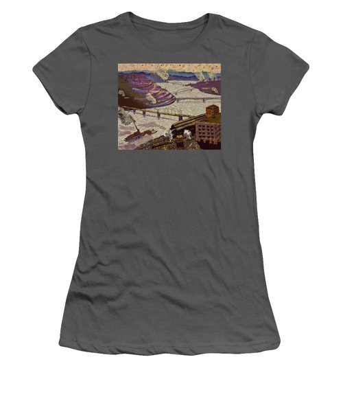 River Of Industry Women's T-Shirt (Athletic Fit)