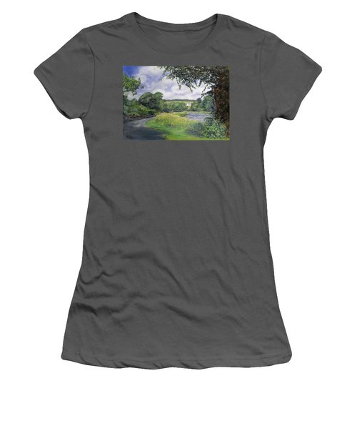 Riverside House And The Cauld Women's T-Shirt (Athletic Fit)
