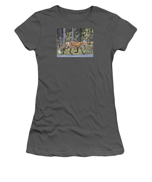 Road Weary Women's T-Shirt (Athletic Fit)