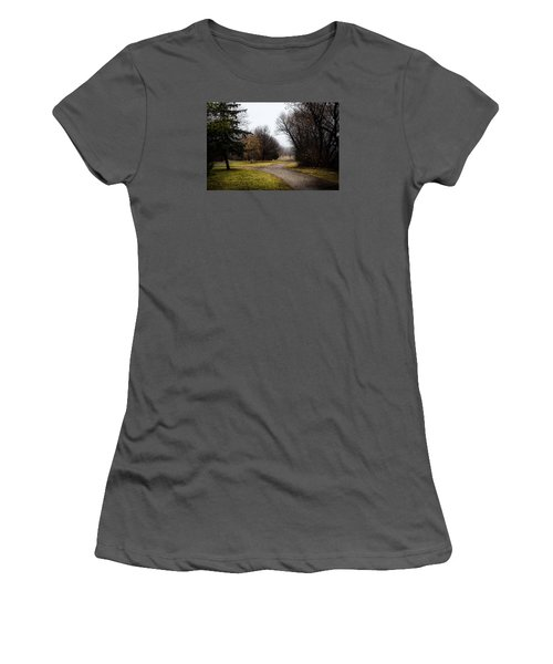 Roads To Nowhere Women's T-Shirt (Junior Cut) by Celso Bressan