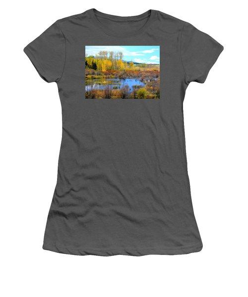 Roadside Splendor Women's T-Shirt (Athletic Fit)