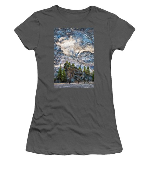 Roaring Mountain Women's T-Shirt (Athletic Fit)