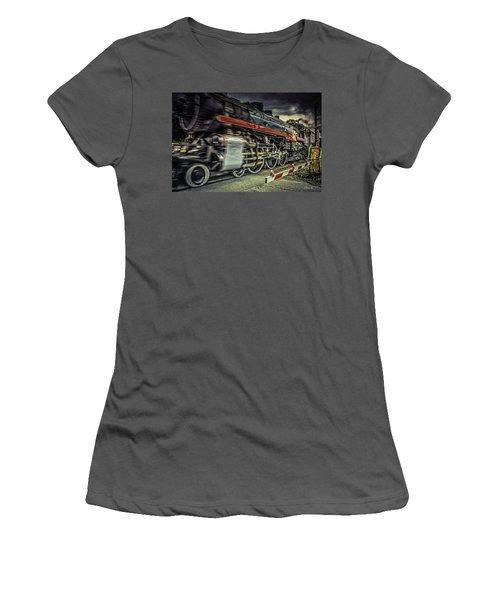 Roaring Past Women's T-Shirt (Athletic Fit)