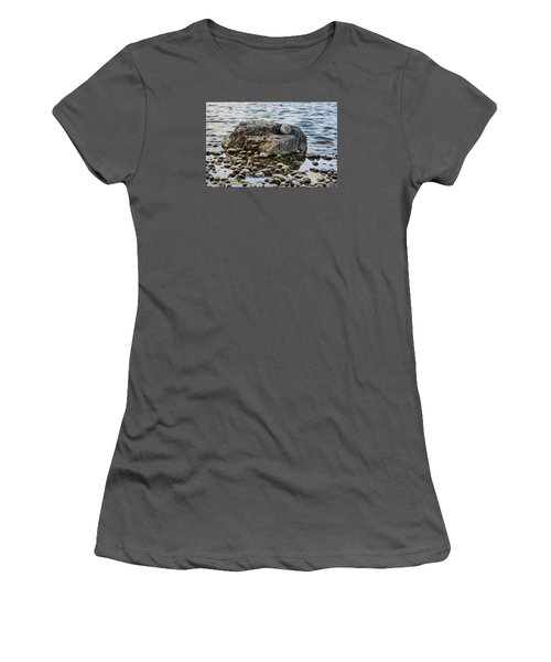 Rock And Roll Women's T-Shirt (Junior Cut) by Deborah Smolinske