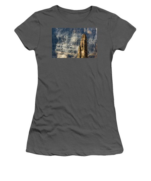 Rock Climber Women's T-Shirt (Athletic Fit)