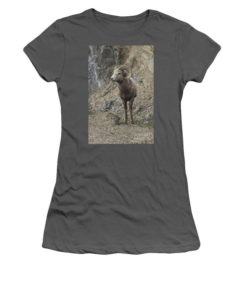 Rockies Big Horn Women's T-Shirt (Athletic Fit)