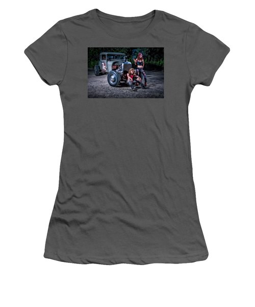 Rodders #2 Women's T-Shirt (Athletic Fit)