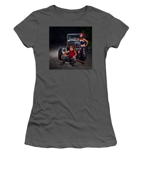 Rodders Women's T-Shirt (Athletic Fit)