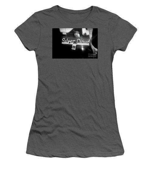 Women's T-Shirt (Junior Cut) featuring the photograph Rolls Royce - Silver Cloud by Colleen Kammerer