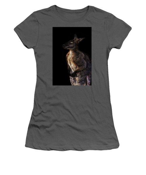 Roo Women's T-Shirt (Junior Cut) by Martin Newman