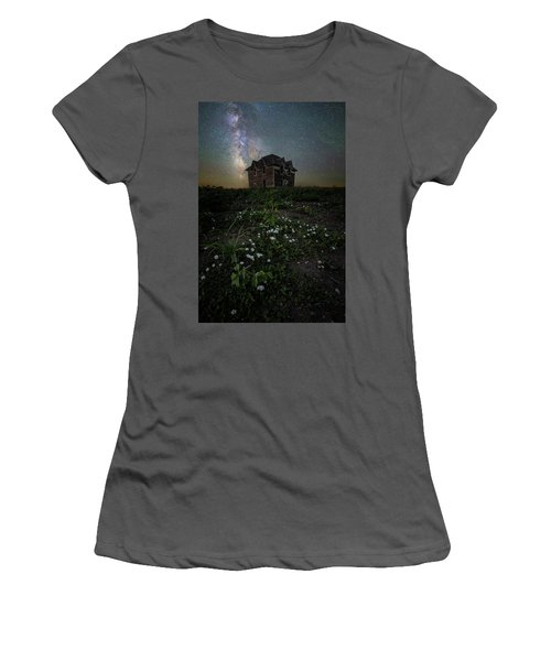 Women's T-Shirt (Athletic Fit) featuring the photograph Room With A View by Aaron J Groen