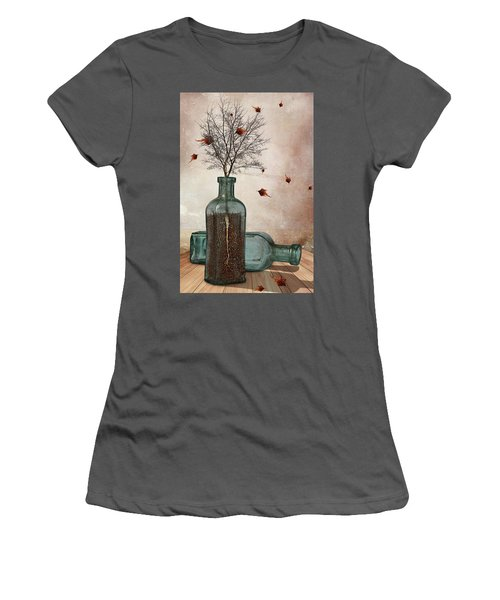 Rooted Women's T-Shirt (Junior Cut) by Mihaela Pater