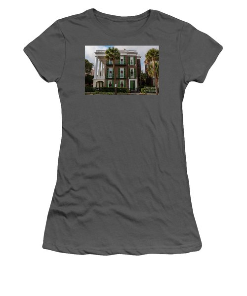 Roper Mansion In December Women's T-Shirt (Athletic Fit)