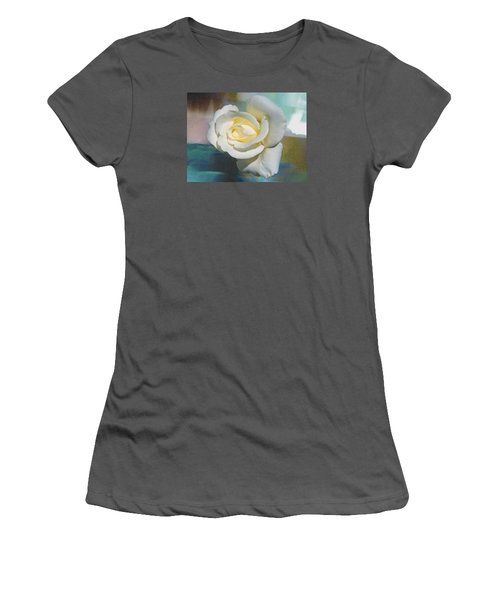 Rose And Lights Women's T-Shirt (Athletic Fit)