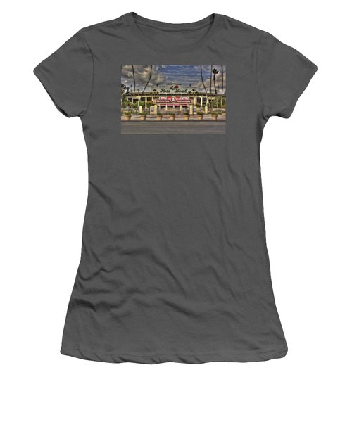 Rose Bowl Hdr Women's T-Shirt (Athletic Fit)