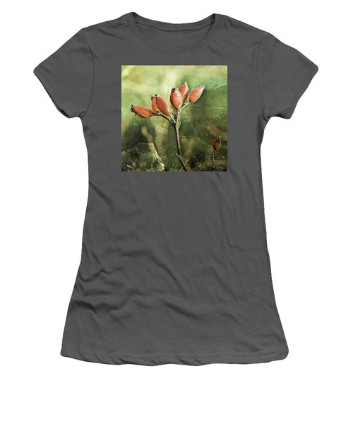 Rose Hips Women's T-Shirt (Athletic Fit)