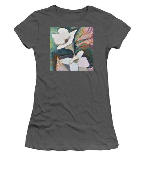 Royal Freesia Women's T-Shirt (Athletic Fit)