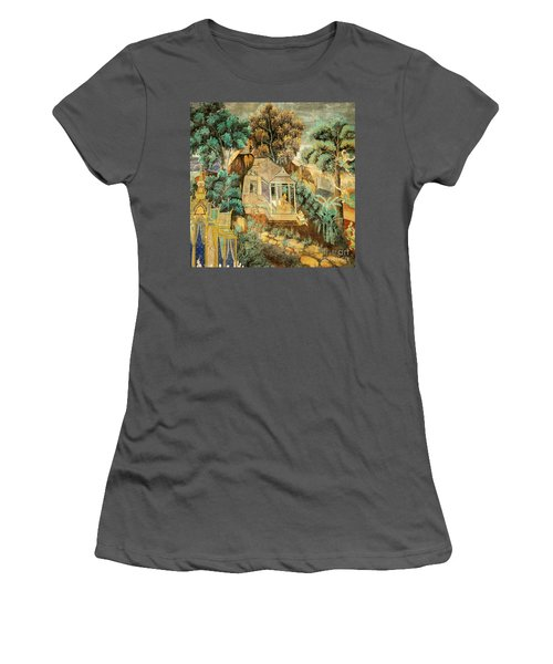 Royal Palace Ramayana 12 Women's T-Shirt (Athletic Fit)