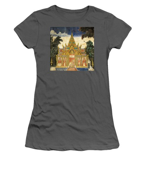 Royal Palace Ramayana 17 Women's T-Shirt (Athletic Fit)