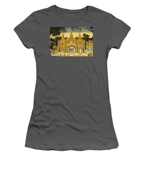 Royal Palace Ramayana 20 Women's T-Shirt (Athletic Fit)