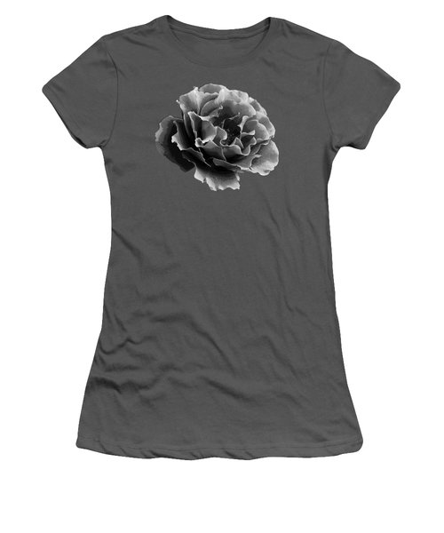 Women's T-Shirt (Junior Cut) featuring the photograph Ruffles by Linda Lees