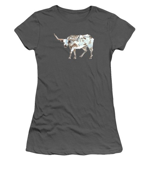 Running Back Texas Longhorn Lh070 Women's T-Shirt (Athletic Fit)