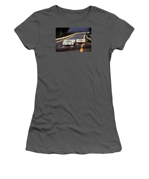 Running One Two Women's T-Shirt (Athletic Fit)